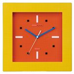 nanoblock(ナノブロック) Wall-clock(ウォールクロック) オレンジ/イエロー NAWC-96903YO