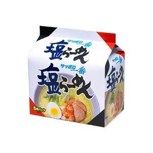サッポロ一番 塩ラーメン 5個パック×6P【1ケース・30食】 - 拡大画像