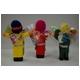 【エケコ人形10cmx1体】ミックス色 かわいい小さいサイズのミニエケコ人形(ペルー直輸入)【色指定不可】 - 縮小画像3