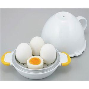 レンジでらくチン ゆで卵 4個用 【3個セット】 - 拡大画像