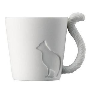 Mugtail 磁器製マグカップ ネコ - 拡大画像