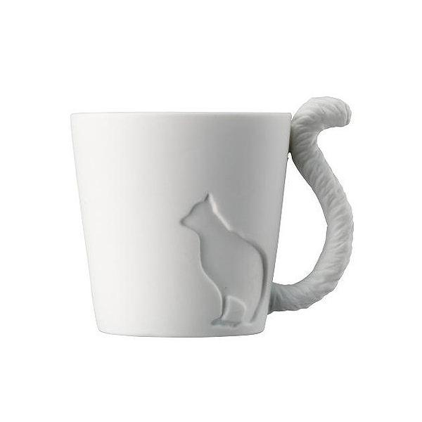 Mugtail 磁器製マグカップ ネコ