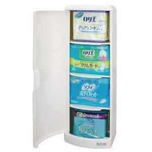 シンカテック トイレ収納ケース シングルタイプ - 拡大画像