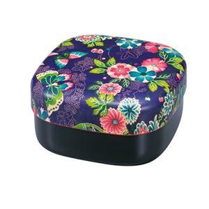 たつみや お重 お弁当箱 2段重 楽園紫 - 拡大画像