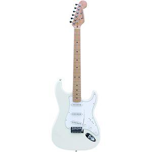 Photogenic エレキギター ホワイト ST-180M - 拡大画像