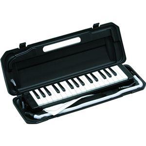 鍵盤ハーモニカ ブラック P3001-32K/BK - 拡大画像