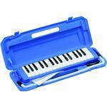 鍵盤ハーモニカ ブルー P3001-32K/BL