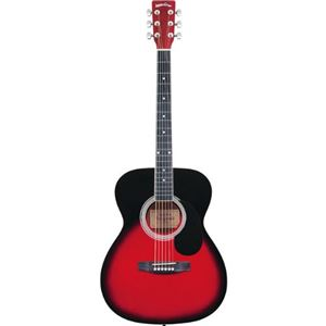 Sepia Crue アコースティックギター フォークタイプ FG-10/RDS レッドサンバースト - 拡大画像