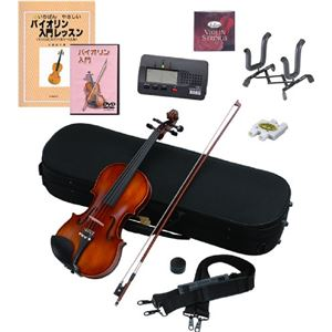 Hallstatt バイオリン 教則本&DVD付き10点セット V-22 - 拡大画像