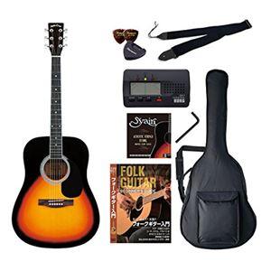 Sepia Crue アコースティックギター バリューセット ウェスタンタイプ WG-10/VS ヴィンテージサンバースト - 拡大画像