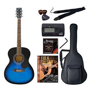 Sepia Crue アコースティックギター バリューセット フォークタイプ FG-10/BLS ブルーサンバースト - 拡大画像