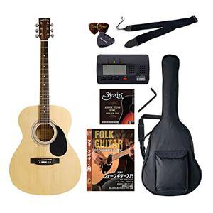 Sepia Crue アコースティックギター バリューセット フォークタイプ FG-10/N ナチュラル - 拡大画像