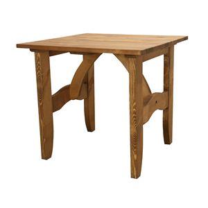ダイニングテーブル 正方形 木製(パイン材/オイル仕上) CFS-511