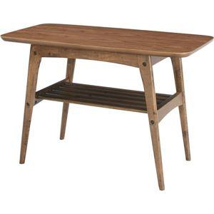 コーヒーテーブルS 【Tomte】トムテ 木製(天然木) 棚収納付き TAC-227WAL