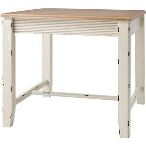 カントリー調ダイニングテーブル 正方形 木製(天然木) COL-018