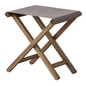折りたたみ椅子(スツール) 【Patio】パティオ 木製(アカシア) NX-602LBR ブラウン 【完成品】 - 拡大画像