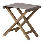 折りたたみ椅子(スツール) 【Patio】パティオ 木製(アカシア) NX-602LBR ブラウン 【完成品】