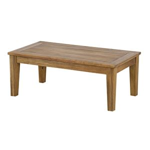センターテーブル【Arunda】アルンダ 木製(アカシア オイル仕上げ) NX-701 Sサイズ(90×50cm)【組立品】 - 拡大画像