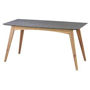 ダイニングテーブル 【Nix】ニックス 木製(天然木) 4人掛けサイズ 北欧 VET-402T