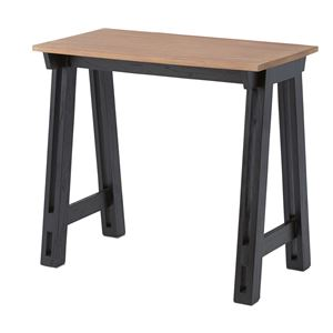 ウッディテイストマルチデスク/作業台 【幅80cm】 木製 天然木 NW-858 〔インテリア家具 什器〕