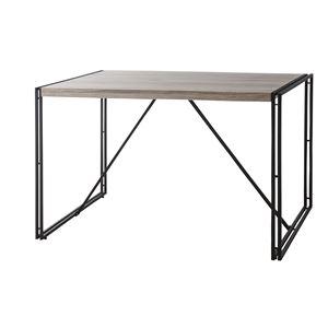 ウッドテイストダイニングテーブル/リビングテーブル 【幅120cm】 木目調 『チェスター』 OL-572