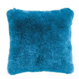 シャギークッション 【ブルー】 正方形 45cm×45cm RGC-20BL 〔インテリアグッズ ディスプレイ用品〕 - 拡大画像