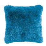 シャギークッション 【ブルー】 正方形 45cm×45cm RGC-20BL 〔インテリアグッズ ディスプレイ用品〕