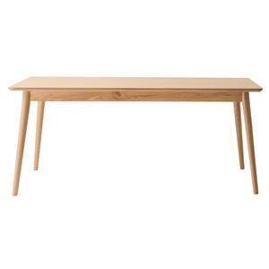 北欧調ダイニングテーブル/リビングテーブル 【長方形 幅160cm】 ナチュラル 『リズ』 RTO-883TNA