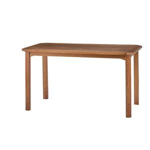 木製ダイニングテーブル/リビングテーブル 【幅130cm】 木目調 『クーパス』 VET-633T