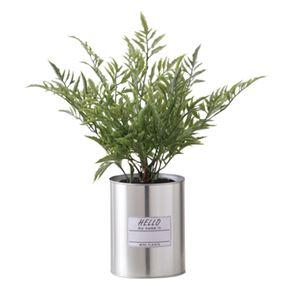 観葉植物/造花 【フェイクグリーン LFS-901A】 塩化ビニル スチール 〔部屋 内装 リビング ダイニング〕 - 拡大画像