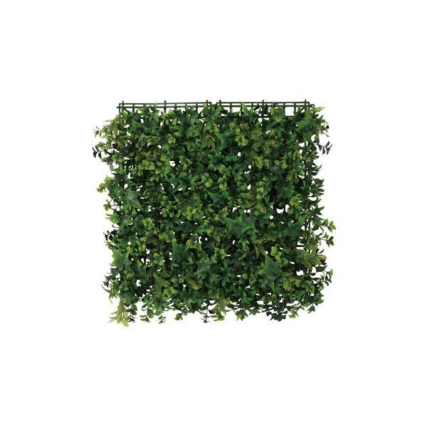 観葉植物/造花 【パネルフェイクグリーン LFS-904D】 ポリエチレン 〔部屋 内装 リビング ダイニング〕