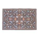 エスニック風 ラグマット/絨毯 【130×190cm TTR-167A】 長方形 インド製 〔リビング ダイニング 応接間 客間〕