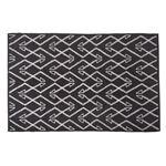 エスニック調 ラグマット/絨毯 【130×190cm TTR-170A】 長方形 綿100% インド製 収納袋付き 〔リビング ダイニング〕