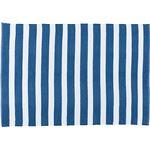ラグ ブルー W130×D190cm