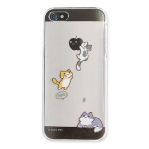 iPhone5 にゃいふぉんケース Iキャット [とびかかり] - 拡大画像