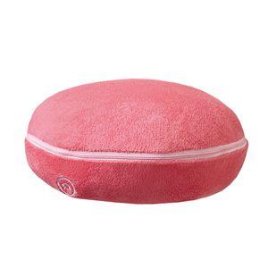 マッサージクッション/リラックスグッズ 【ピンク】 オートオフタイマー機能/洗えるカバー付き 『プチシフォン』 - 拡大画像
