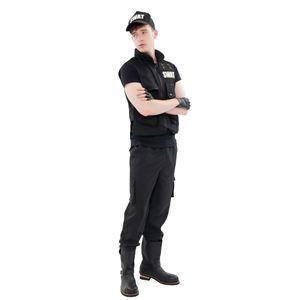 コスプレ衣装/コスチューム 【SWAT型】 メンズ180cm迄 ポリエステル 『New York Wish』 〔イベント〕 - 拡大画像
