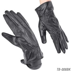 革手袋 【本革メンズ手袋】 ラム皮レザーグローブメンズ/ブラウンLサイズ - 拡大画像