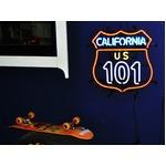 ネオンサイン 【CALIFORNIA 101】カリフォルニア 101(ネオン管 看板 アメリカン雑貨 ・NEON SIGN・ネオンサイン)