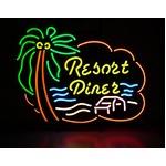 ネオンサイン Resort Diner リゾート ダイナー (ネオン管 看板 アメリカン雑貨 ・NEON SIGN・ネオンサイン)