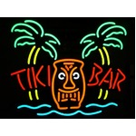 ネオンサイン TIKI BAR PALM BEACH チキバーパームビーチ (ネオン管 看板 アメリカン雑貨 ・NEON SIGN・ネオンサイン)