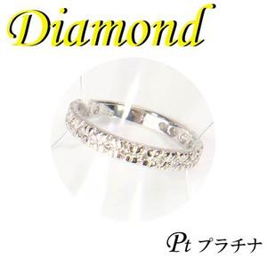 プラチナ エタニティ リング ダイヤモンド 4月誕生石/2号 - 拡大画像