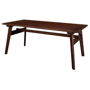 ダイニングテーブル(モティ) 長方形 木製(天然木) 東谷 RTO-745TBR ブラウン