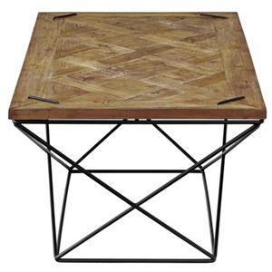 ヒストリア センターテーブル 【幅:120cm】 アイアン 天然木 HIT-151