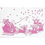 【クリスマス】カタガミ サンタガマチヘ CKC-44