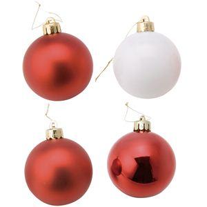 【クリスマス】50mmカラフルボールアソート24P COA-542 - 拡大画像