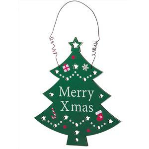 クリスマスツリーホールハンギング - 拡大画像