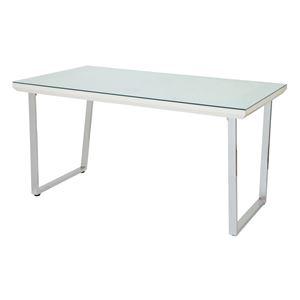 あずま工芸 ダイニングテーブル 幅135cmガラス天板 GDT-7691