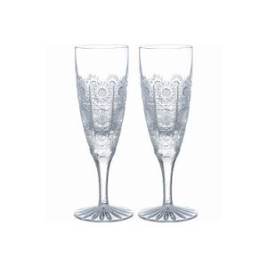 【Bohemia 500pk】ボヘミア シャンパンフルート ペア 691/500/175/2 - 拡大画像