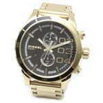 DIESEL(ディーゼル) メンズ 腕時計 人気のデカ系クロノグラフウオッチ 3Time表示 DZ4337